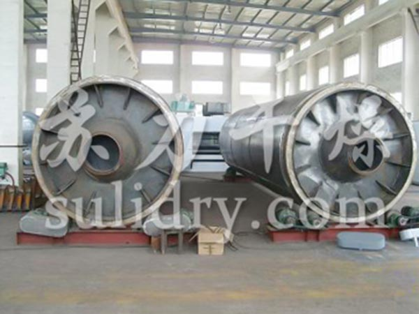 Glucose rotary drum dryer