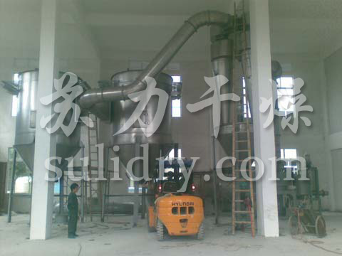 Cellulose special flash dryer